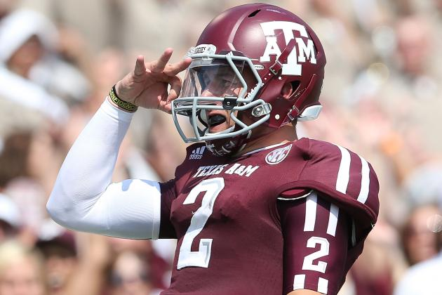 Texas A&M Football: Johnny Manziel Guarantees Aggies Will Be an SEC Juggernaut