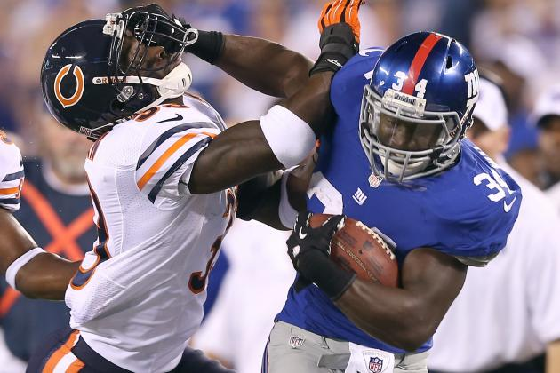 David Wilson: RB Isn't Fantasy Football Asset Yet Despite Ahmad Bradshaw Injury