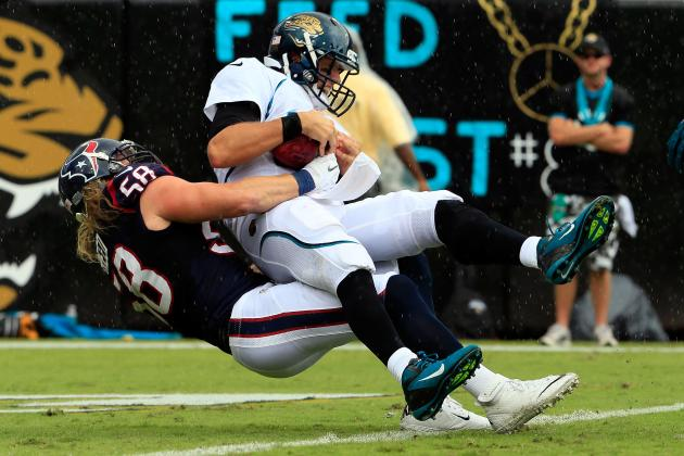 Blaine Gabbert: Updates on Jaguars QB's Leg Injury