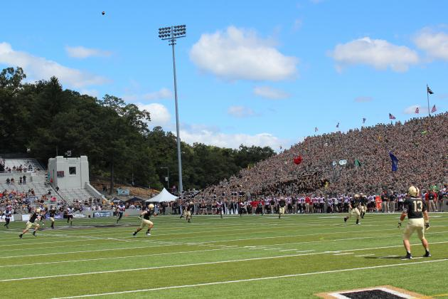 Army Runs for 486 Yards and Six Touchdowns in 41-40 Loss to Northern Illinois