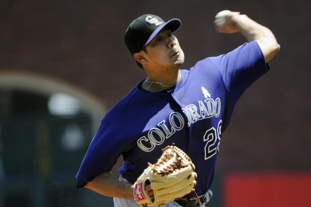 Jorge De La Rosa Has 'Strong Chance' of Pitching Soon for Rockies