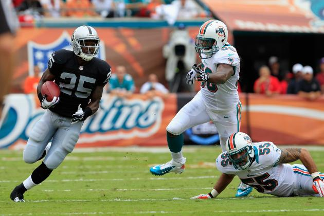 Oakland Raiders Recap: Can't Run, Can't Stop the Run Against Dolphins