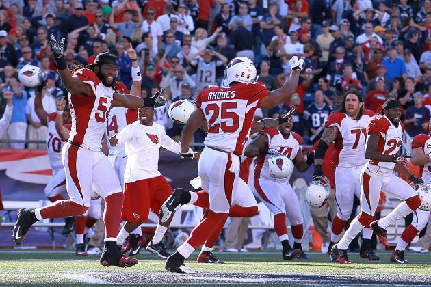 Arizona Cardinals vs. New England Patriots: Live Score, Video, and Analysis