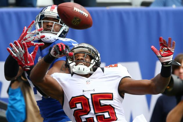 Hakeem Nicks Limps His Way to 199-Yard Performance Against Bucs