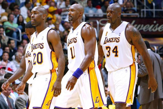 Comparing the 2012-13 Lakers to the 2003-04 Lakers