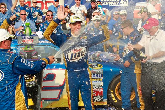 Brad Keselowski Wins First Chase for Sprint Cup Race