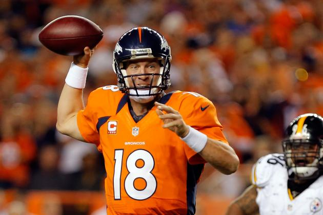 Peyton Manning: Denver Broncos Star Will Continue Hot Start vs. Atlanta Falcons