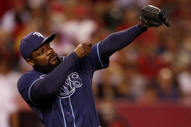 Tampa Rays' Fernando Rodney Tops List of Notable Mound Celebrations