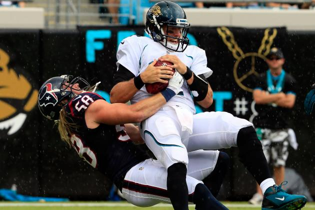 Texans vs. Jaguars: Blaine Gabbert Leads a Pathetic Offensive Effort
