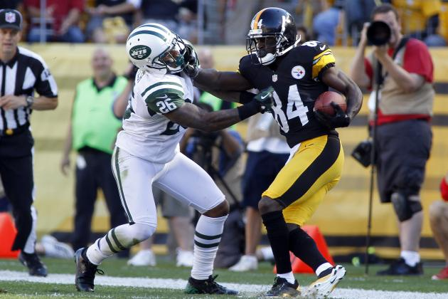 Jets vs. Steelers: Absence of Darrelle Revis Palpable in New York's 27-10 Loss