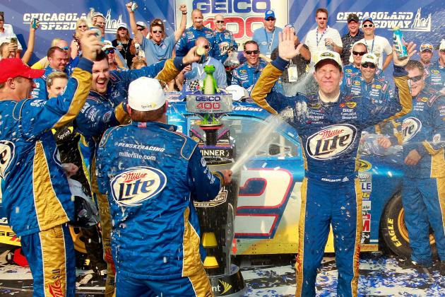 NASCAR: Brad Keselowski Proves He's a Force to Be Reckoned with in the Chase