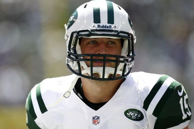 Tim Tebow: MetLife Messiah Creeps Back into Picture as Mark Sanchez Lays Egg