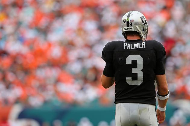 Oakland Raiders' Season Looking Grim after Loss to the Dolphins