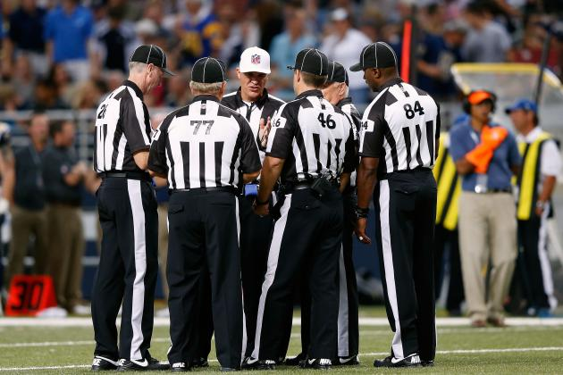 Rams-Redskins Catastrophe Shows Why NFL Needs Real Officials Back