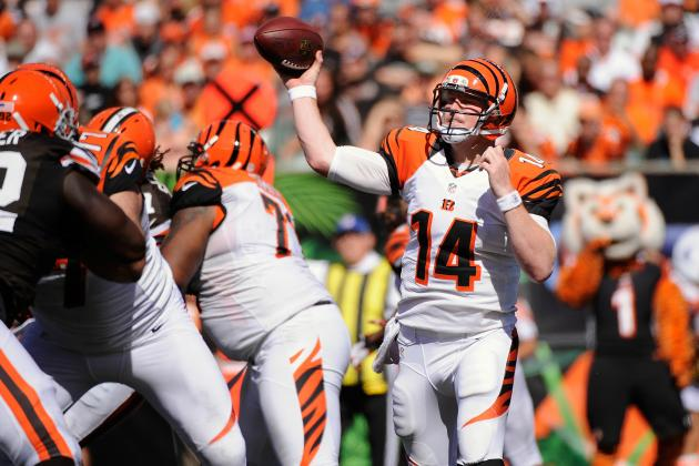 Browns vs Bengals: Andy Dalton Sharp in Otherwise Lucky Win over Cleveland