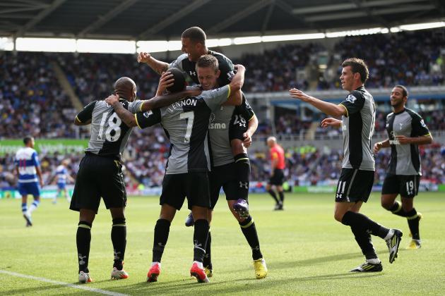 Reading 1-3 Tottenham: Fluid Spurs Fluster Flat Royals