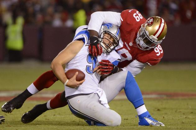 Detroit Lions at San Francisco 49ers: Offense Never Finds Rhythm in Loss