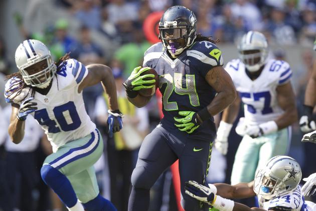 Cowboys vs. Seahawks: Marshawn Lynch Enters Beast Mode as Hawks Down the Boys