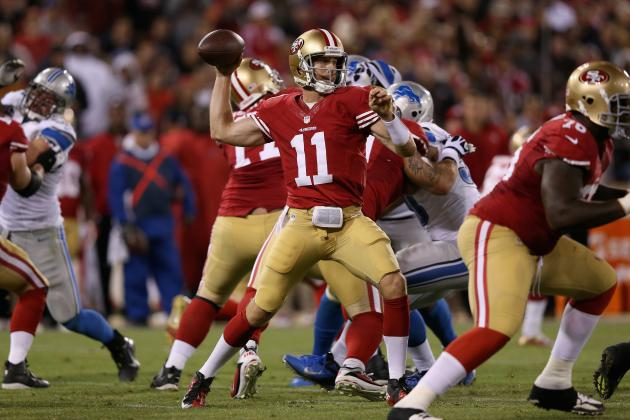 Lions vs. 49ers: Alex Smith and the 49ers Defense Hold Strong Against NFC North