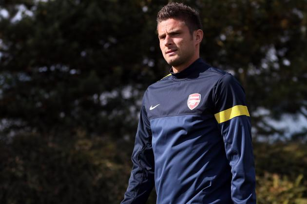 Arsenal EPL News: Olivier Giroud Is Under Pressure, Says Arsene Wenger