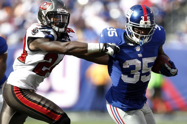 Andre Brown: Why Fantasy Owners Shouldn't Rush to Add Giants RB