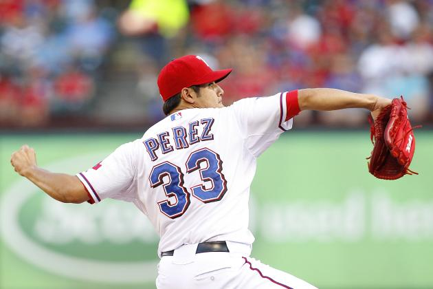 Rangers Move Top Prospect Martin Perez into Rotation