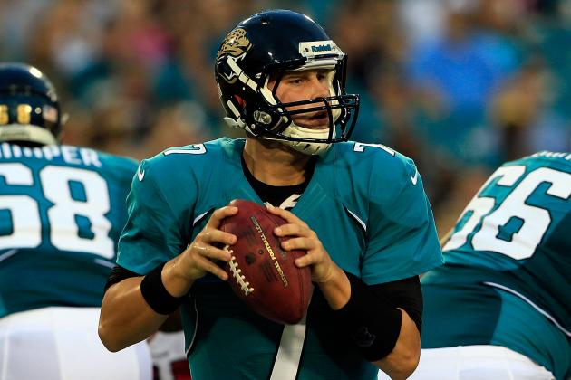 Blaine Gabbert: Injury to Jaguars QB Puts More Pressure on Maurice Jones-Drew