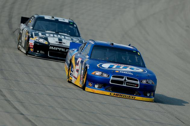 Johnson Surprised by Keselowski's Late Move, Speed at Chicago