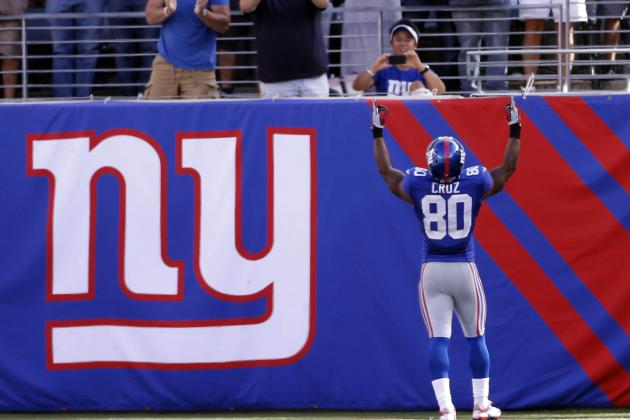 Giants' Cruz Honors Grandma with Touchdown Salsa