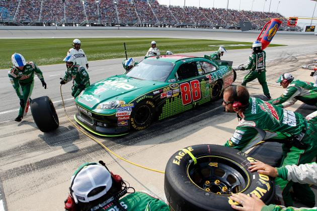 Dale Earnhardt Jr. Says Mistake in Qualifying Cost Him at Chicago
