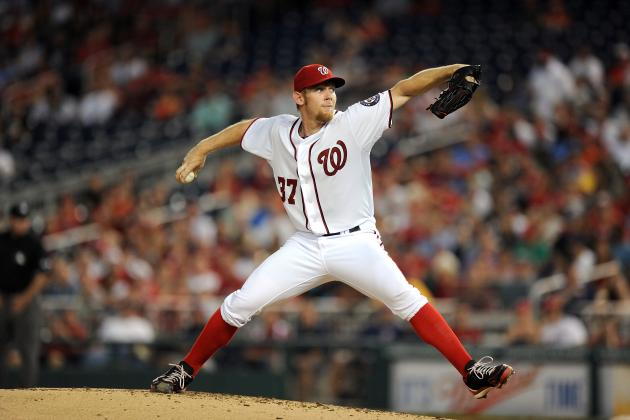 Stephen Strasburg Thinking Along with the Nationals, Even If He Can't Pitch