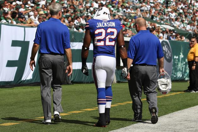Fred Jackson Injury: Updates on Buffalo Bills RB's Knee and Fantasy Status