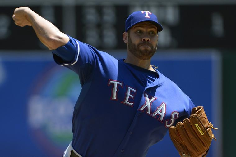 The Rangers Signed Colby Lewis to a Contract Extension
