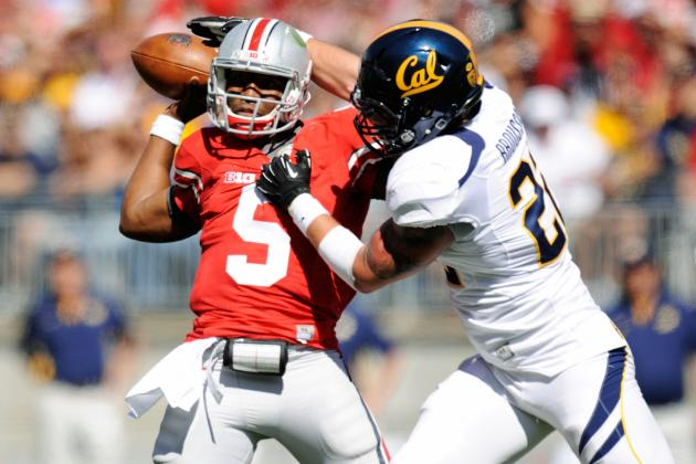 Ohio State Football: Scare vs. Cal Is a Warning Sign for Buckeyes