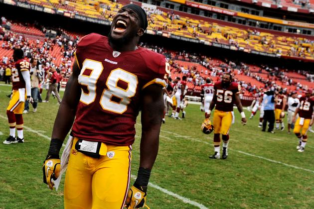 Brian Orakpo Injury: Updates on Redskins Star's Pectoral Muscle
