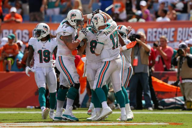 Miami Dolphins: Ryan Tannehill Rises to the Occasion for His 1st Career Win