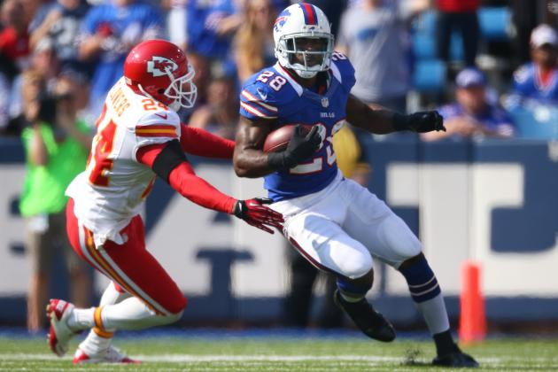 Buffalo Bills RB C.J. Spiller Is a Sleeper Candidate for NFL Offensive MVP
