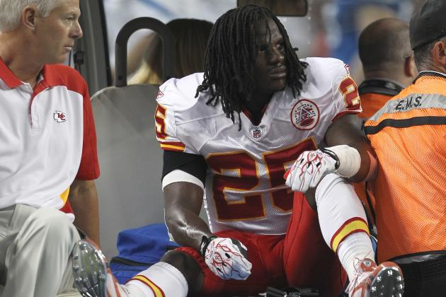 Jamaal Charles Injury: Updates on Chiefs RB's Week 3 Status and Fantasy Value