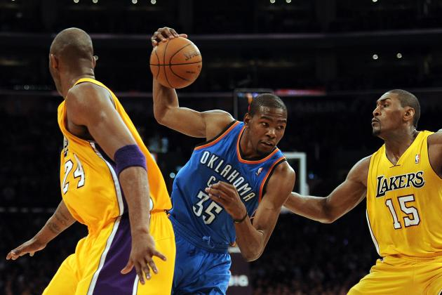 How L.A. Lakers Can Shut Down OKC Thunder Star Kevin Durant