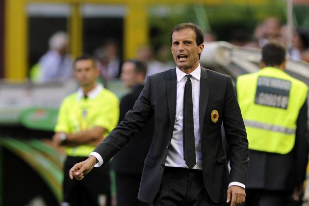 AC Milan's Massimiliano Allegri Needs to Switch to 4-3-3