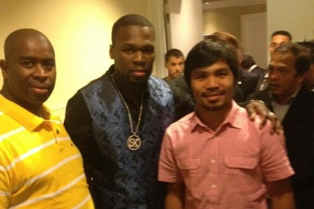 Manny Pacquiao vs. Juan Manuel Marquez IV: 50 Cent is in Attendance