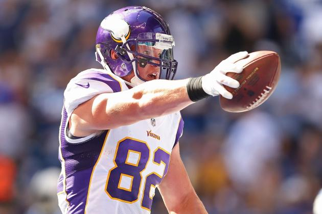 Fantasy Football: Gobble Up Minnesota Vikings TE Kyle Rudolph