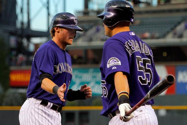 Rockies' Josh Rutledge Ends 0-for-24 Slump with Grand Slam vs. Padres