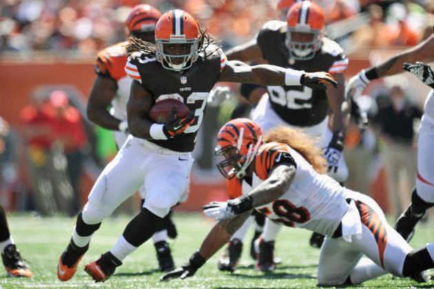 Fantasy Football Week 2: Should Owners Trade Trent Richardson While He's Hot?