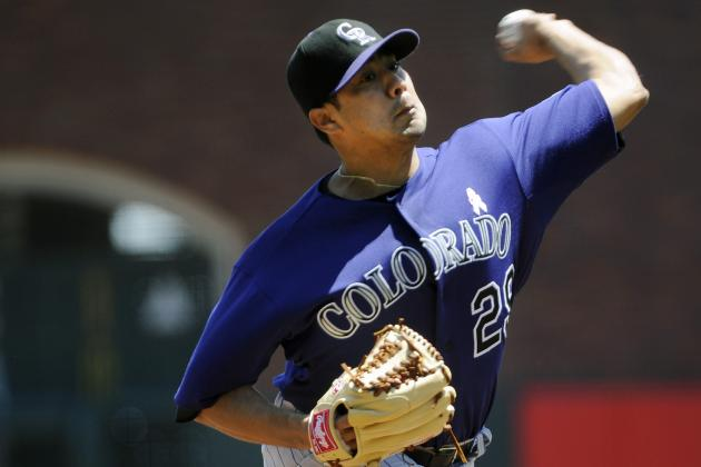 Jorge De La Rosa Scheduled to Make 2012 Debut Thursday vs. Giants