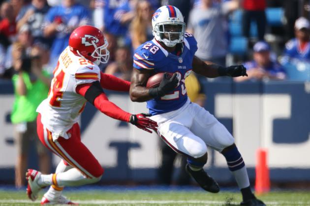 Chan Gailey Believes CJ Spiller Can Handle More Carries, and More AFC East News
