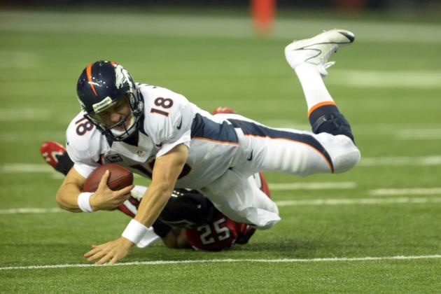 Broncos vs. Falcons: Manning Struggles with Interceptions in 27-21 Loss