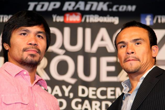 Pacquiao vs. Marquez 4: 'Pac-Man' Says He Wants to Knock Marquez Out