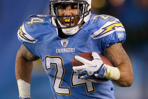San Diego Chargers RB Ryan Mathews Set to Return Against the Falcons