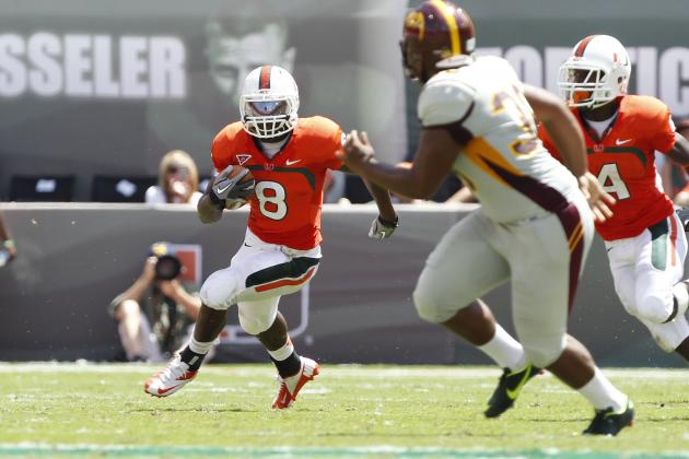 Duke Johnson: Just How Good Is the Hurricanes' True Freshman?